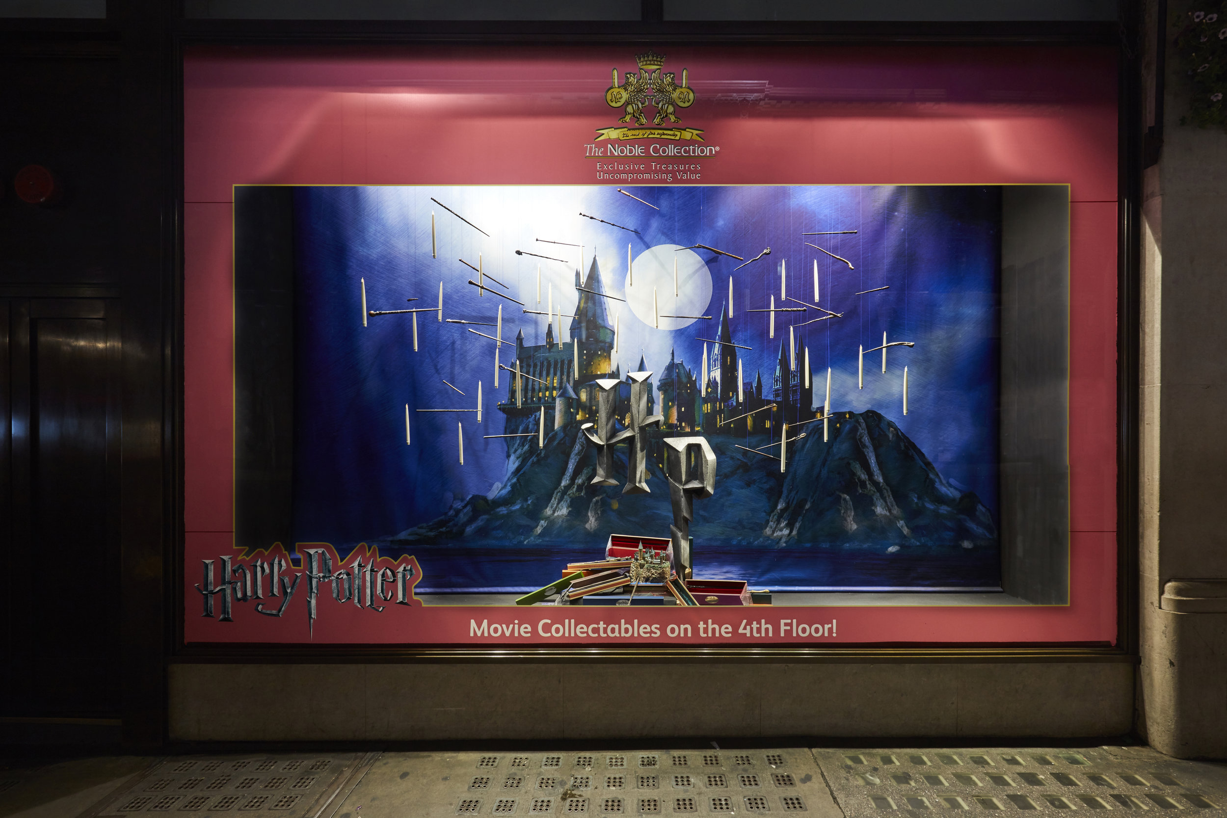 Propability, Hamleys, Nobel, Harry Potter, Window Display .jpg