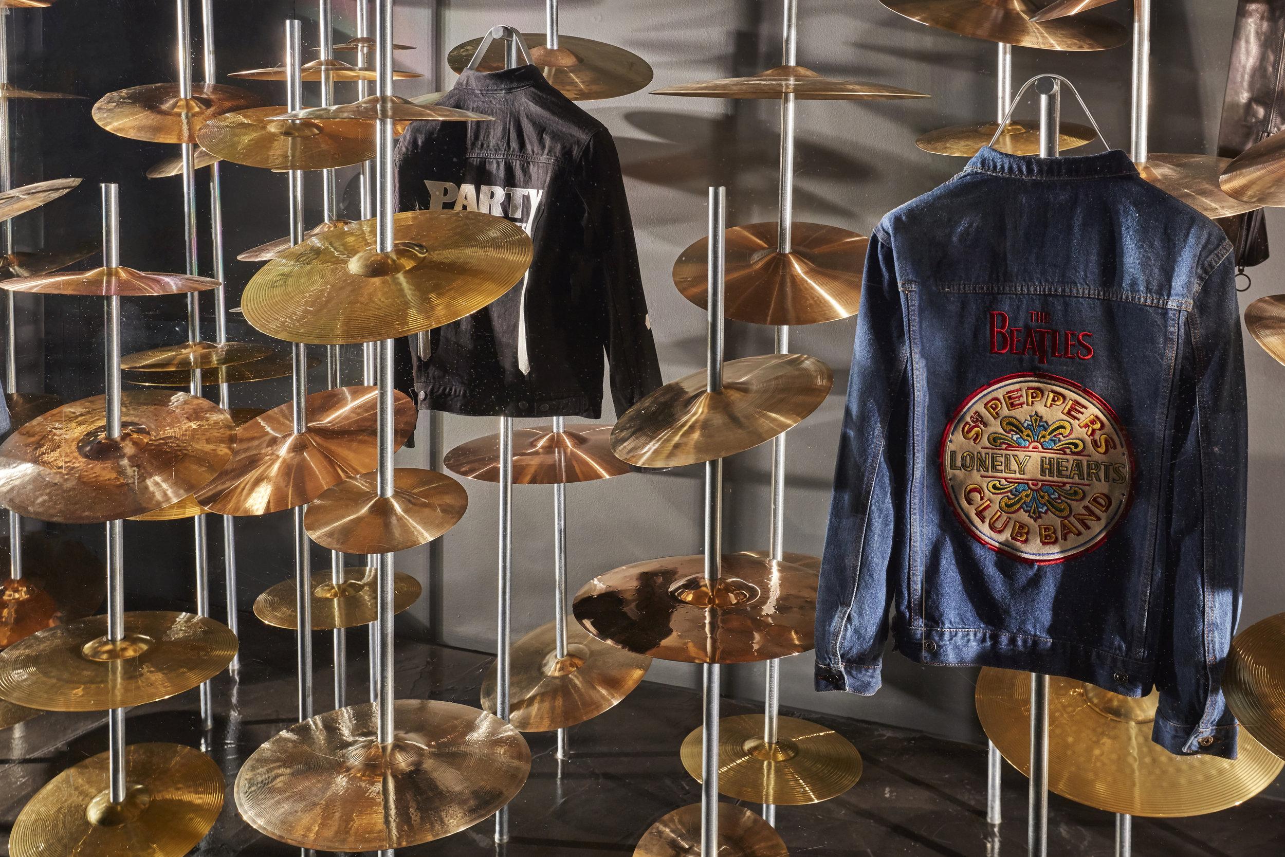 Propability, Selfridges, Window Display, Music Matters, Fashion, Cymbals.jpg