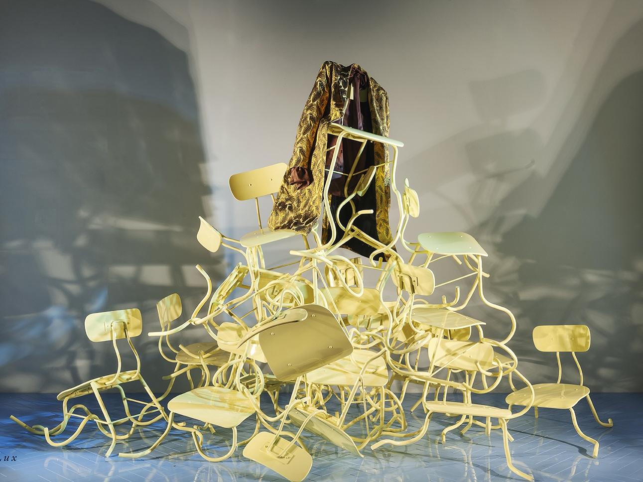 Propability, Radical Luxury Window Display, Selfridges Chairs.jpg