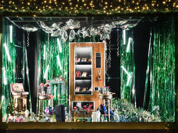 CHRISTMAS WINDOWS - SELFRIDGES, LONDON    November 2018