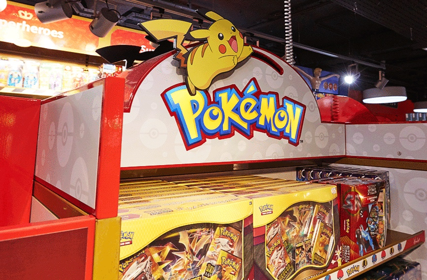 POKEMON GONDOLA - HAMLEYS, LONDON    February 2019