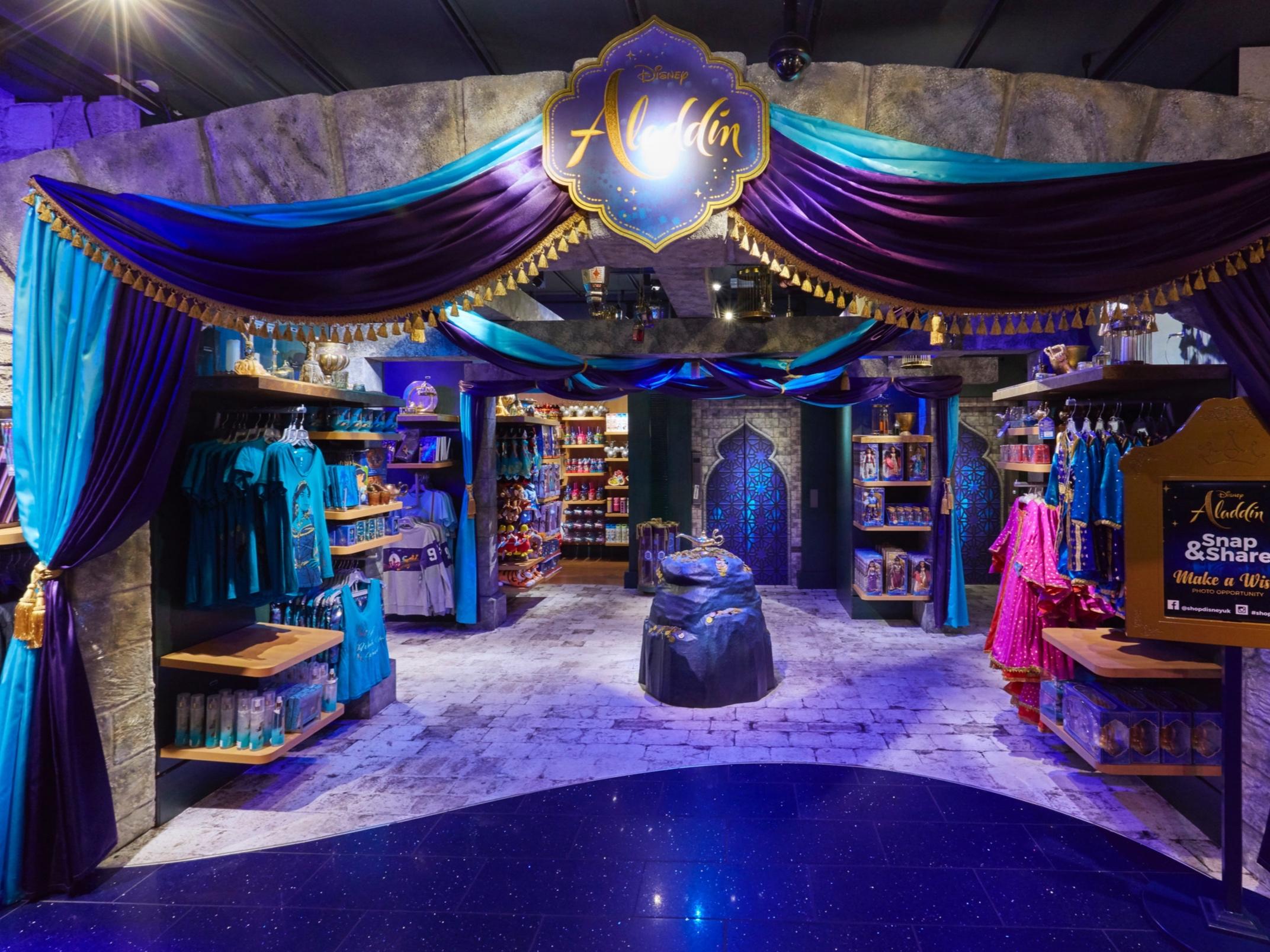 Aladdin Cave, Disney Store, Oxford Street, Propability .jpg