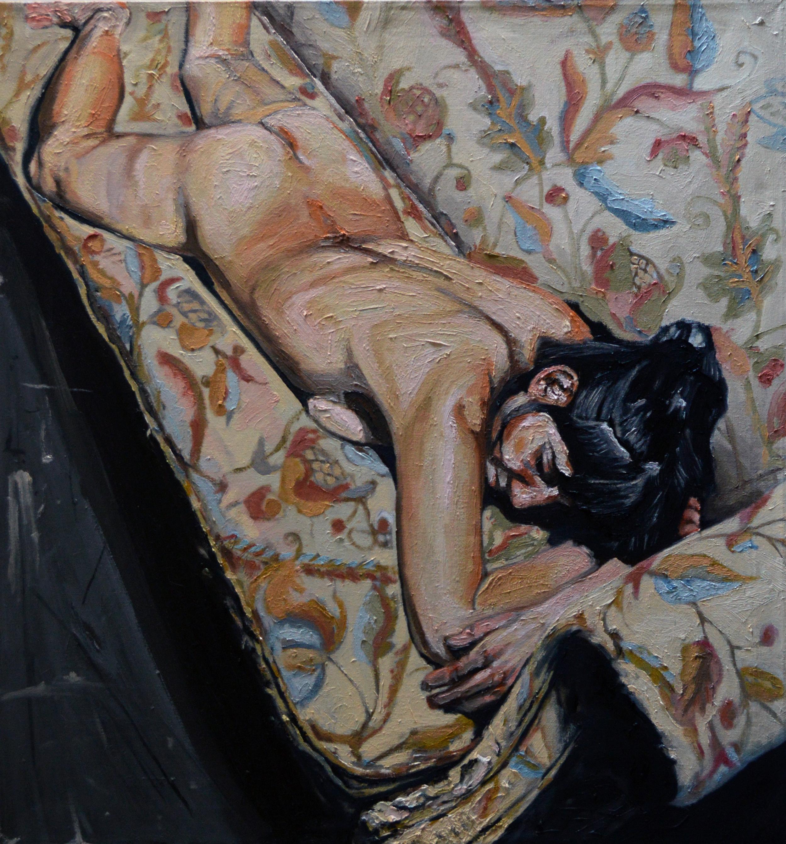 Female Artist Sleeping