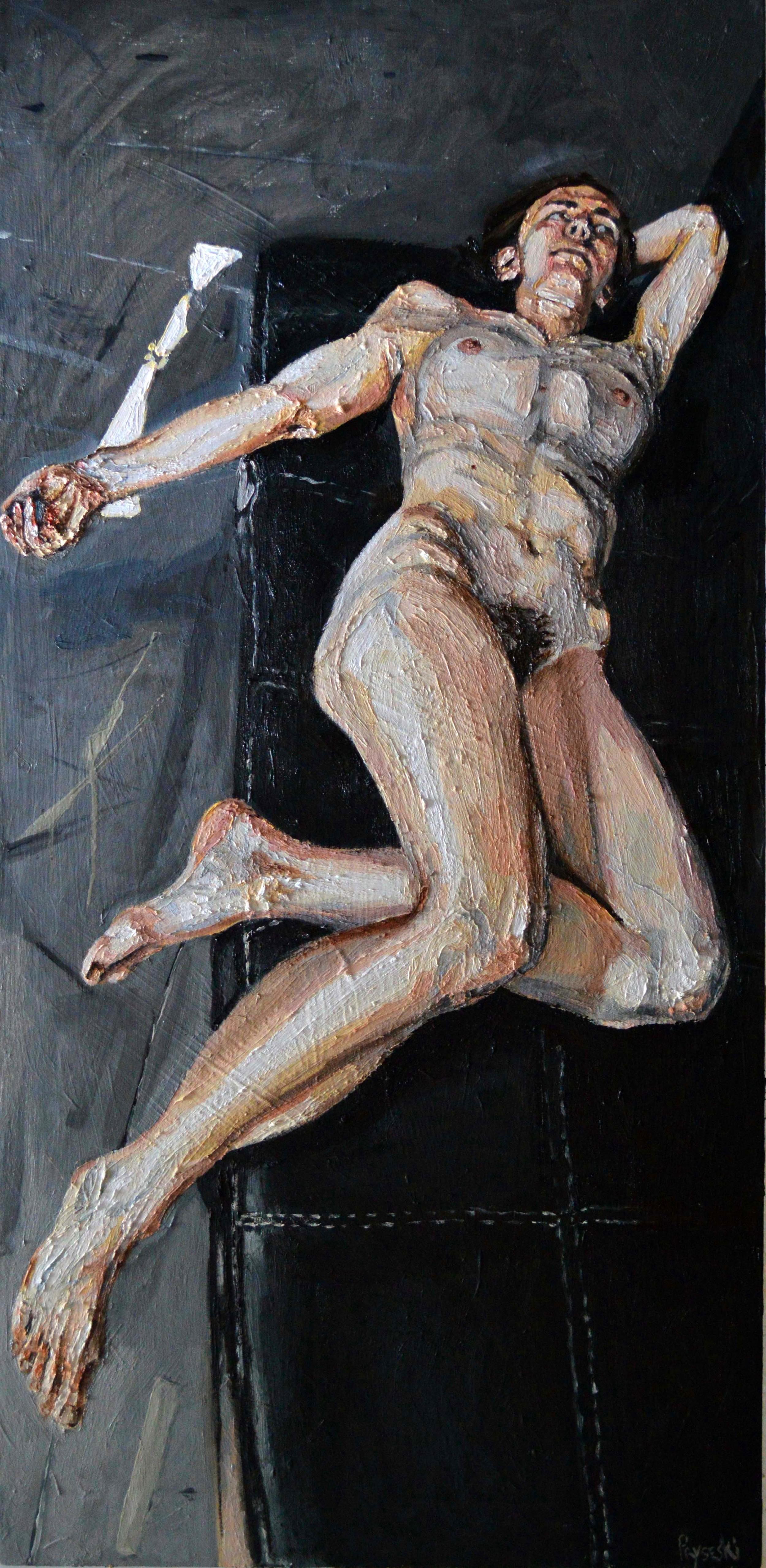 Dancer on Futon