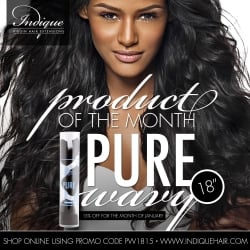 1. Start with air dried hair:Instead of blowdrying your hair straight in preparation for your curls, try letting your hair dry. This works especially well with curly or wavy hair and helps to achieve a tighter, longer-lasting curl. If you're a hair extension wearer, try this with Indique PURE Curly or PURE Wavy textures.