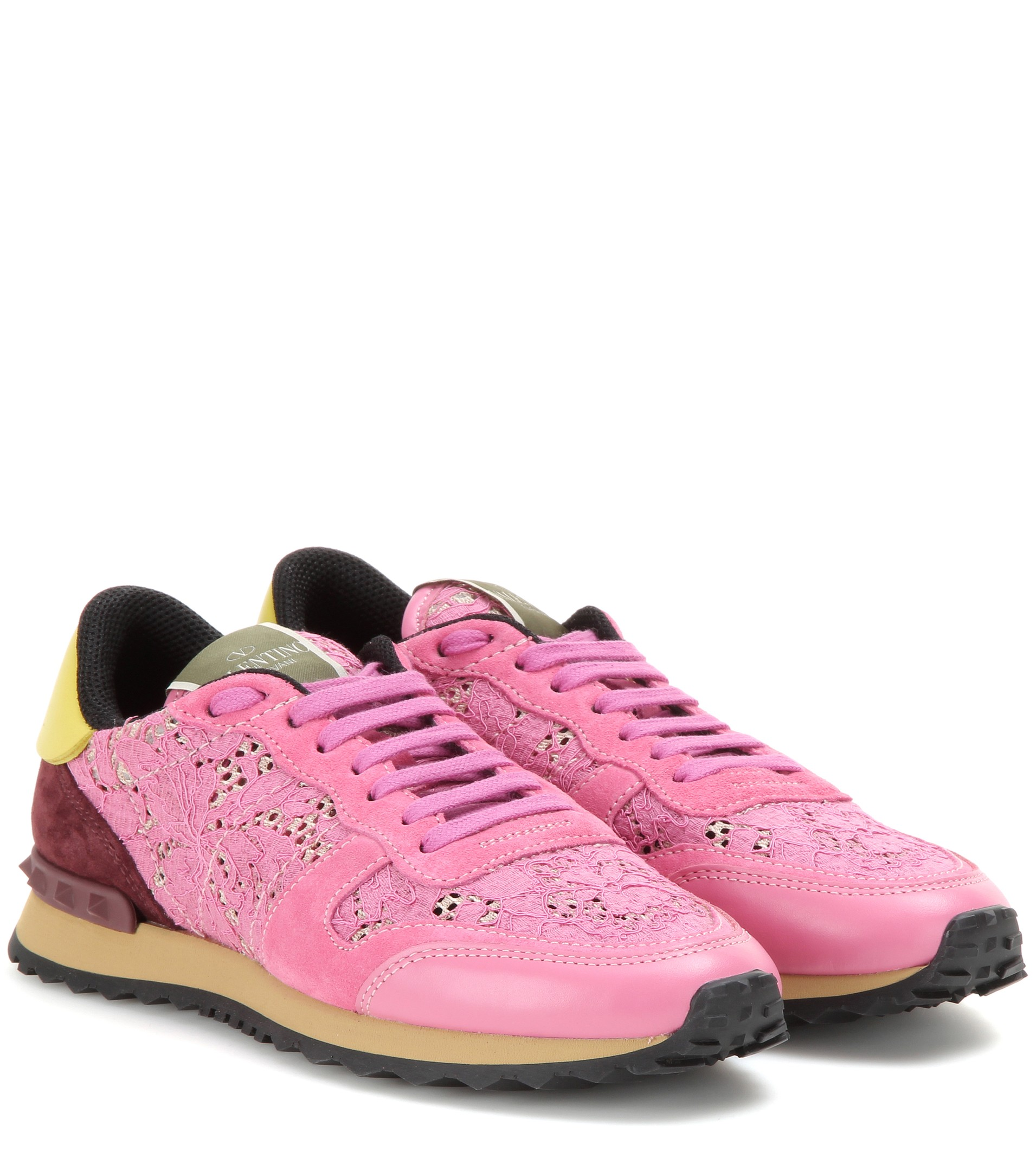 Valentino Rockrunner Lace Sneakers