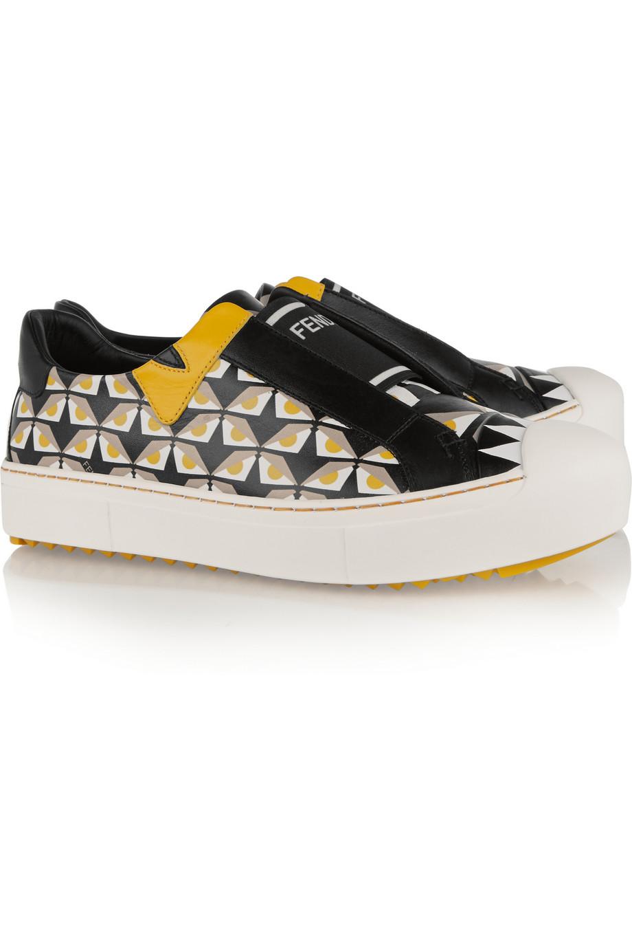 Fendi Printed Sneaker