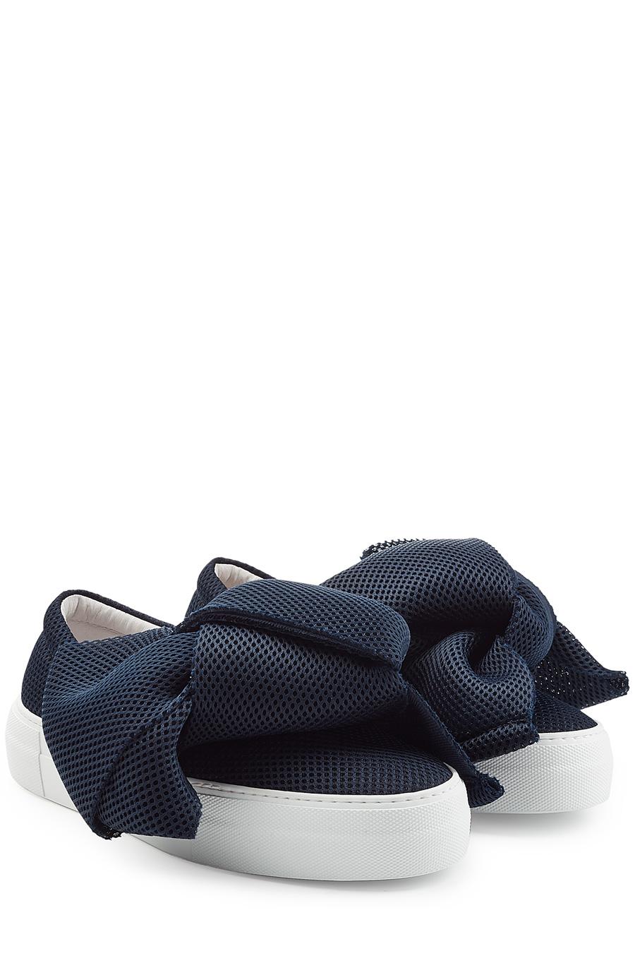Joshua Sanders Oversized Bow Sneaker
