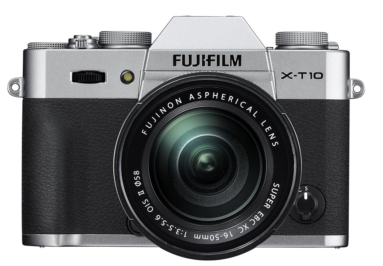 Fujifilm X-T10 Silver Mirrorless Digital Camera