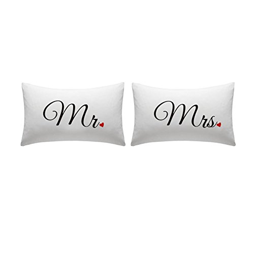 Mr. & Mrs. Pillow Set