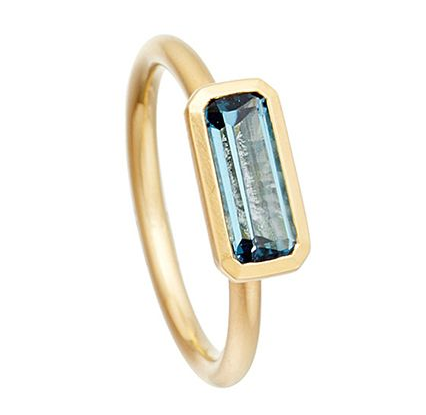 Astley Clarke Blue Topaz Ring, $164, available at Selfridges & Co.