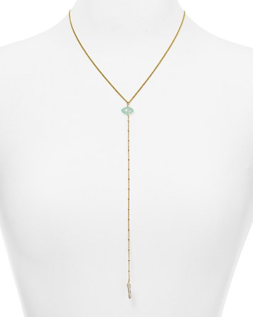 Chan Luu  Cultured Freshwater Pearl Y Necklace, PRICE: $120.00