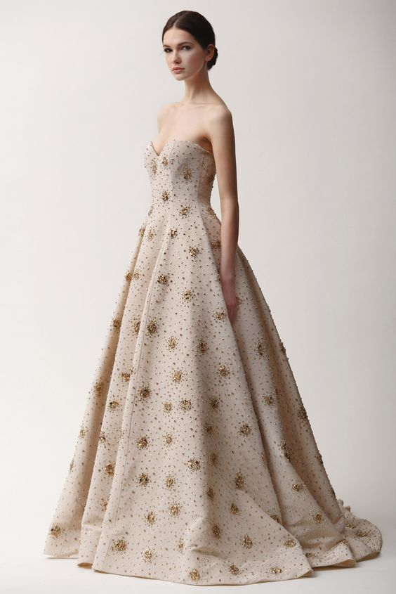 Malia's Dress Designed By Naeem Khan