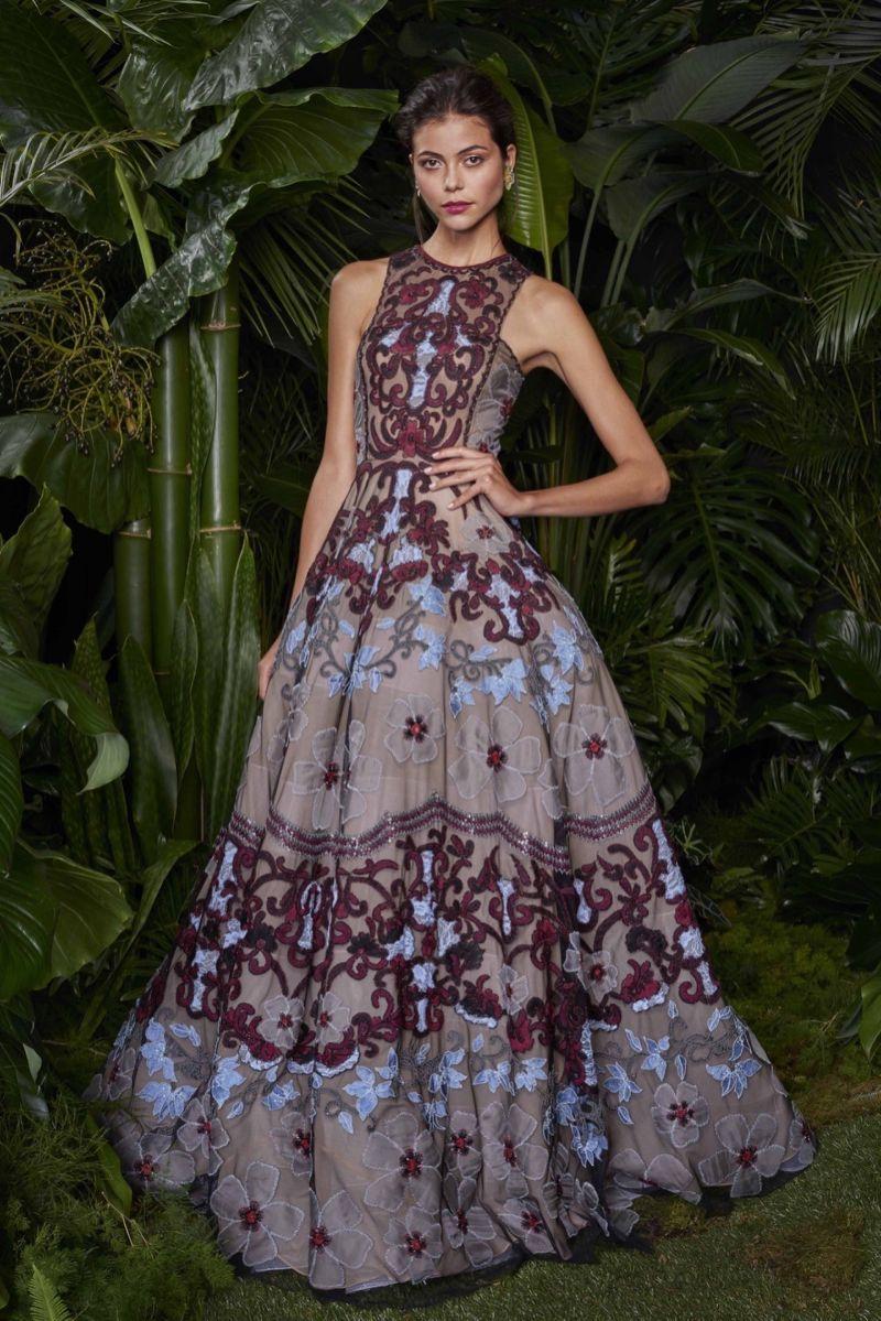 Sasha's Dress Designed by Naeem Khan