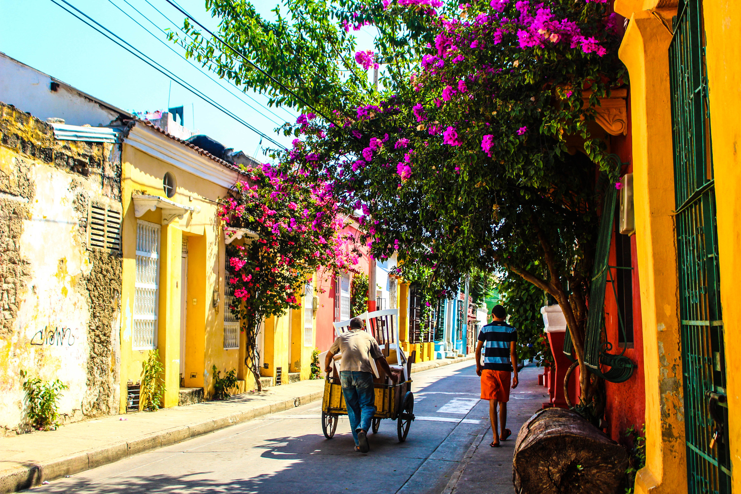 San Diego, Walled City of Cartagena, Colombia. by Nneya Richards