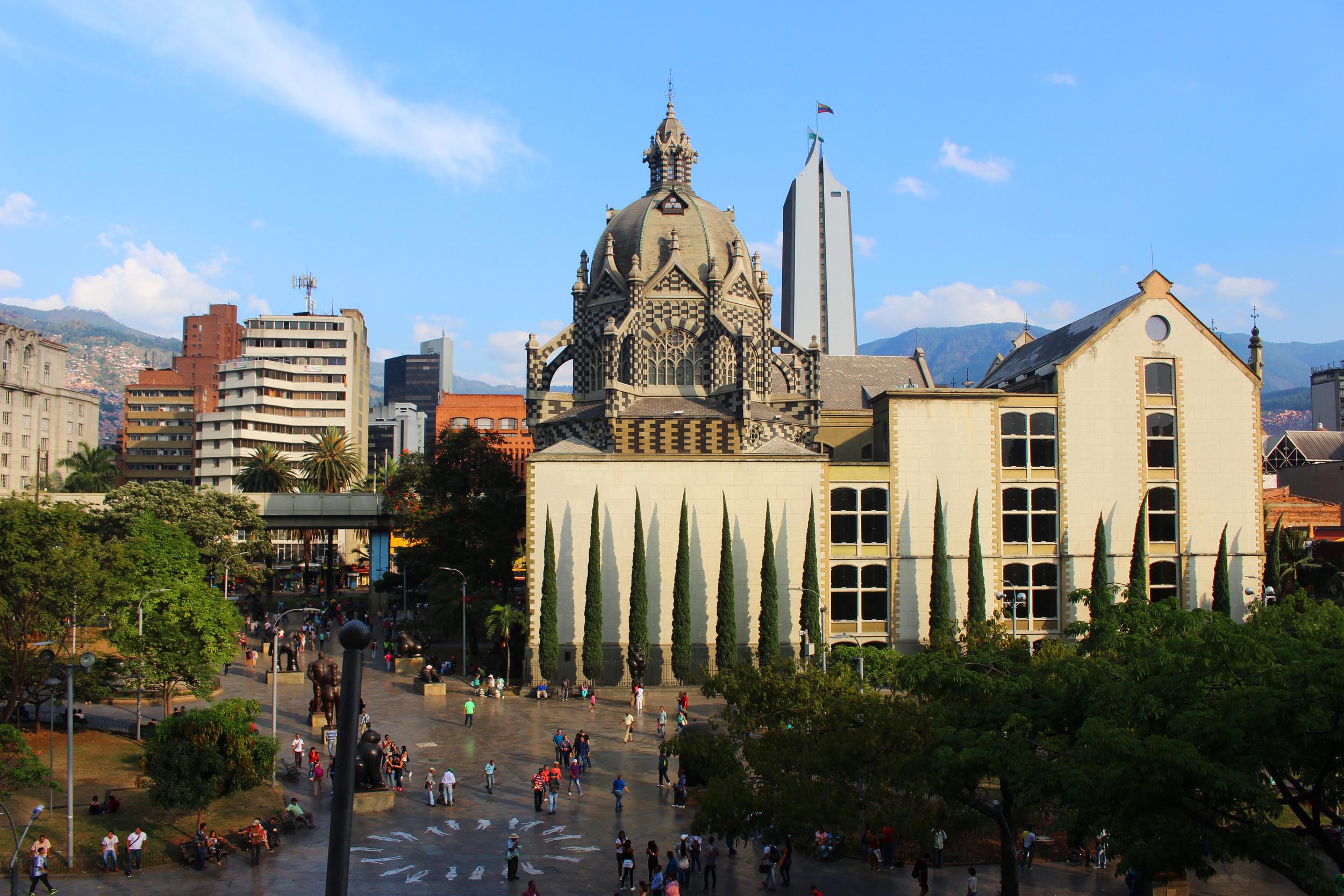 Plaza de Botero, Medellín, Colombia. by Nneya Richards