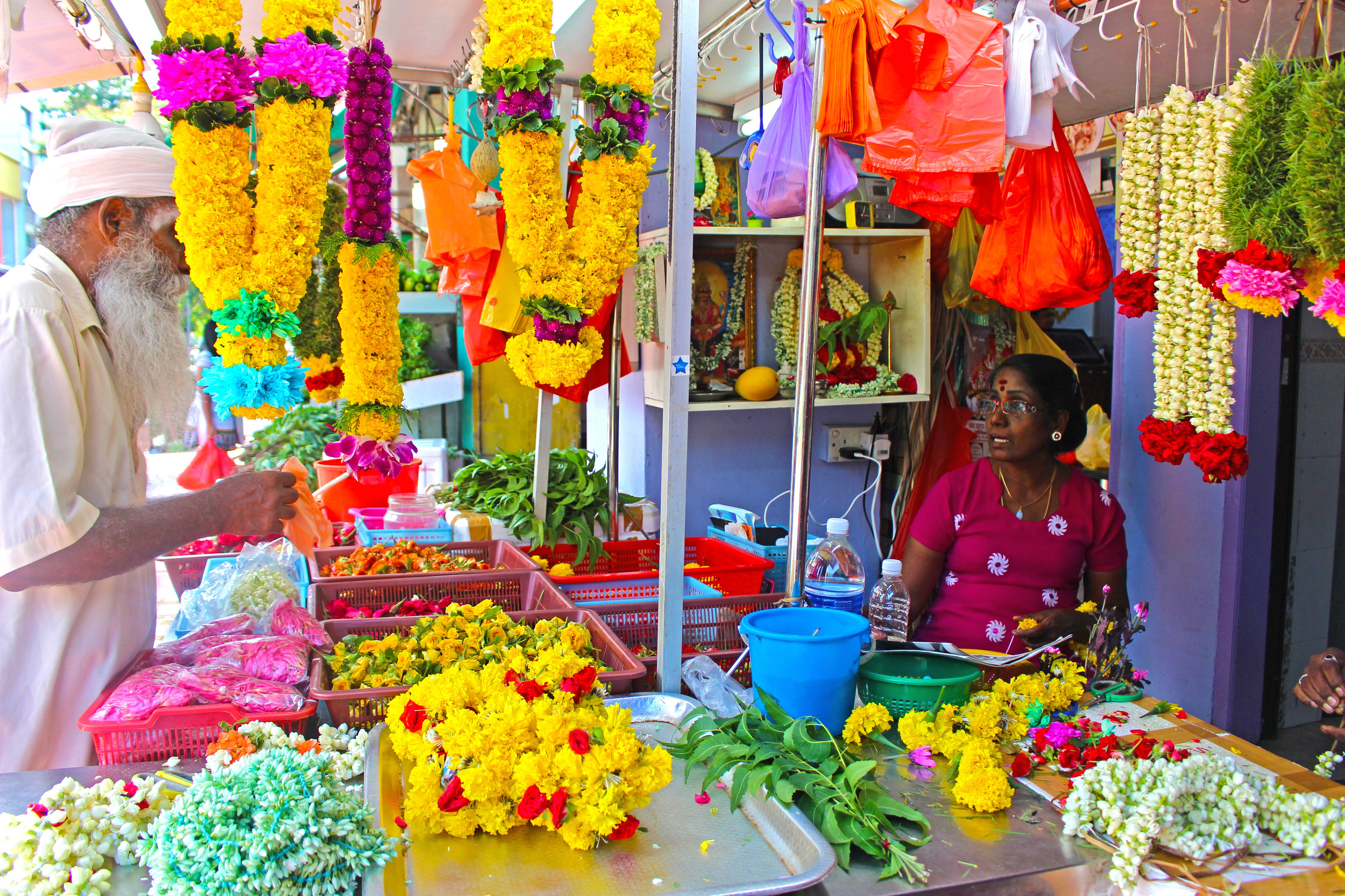 Little India in Singapore. by Nneya Richards
