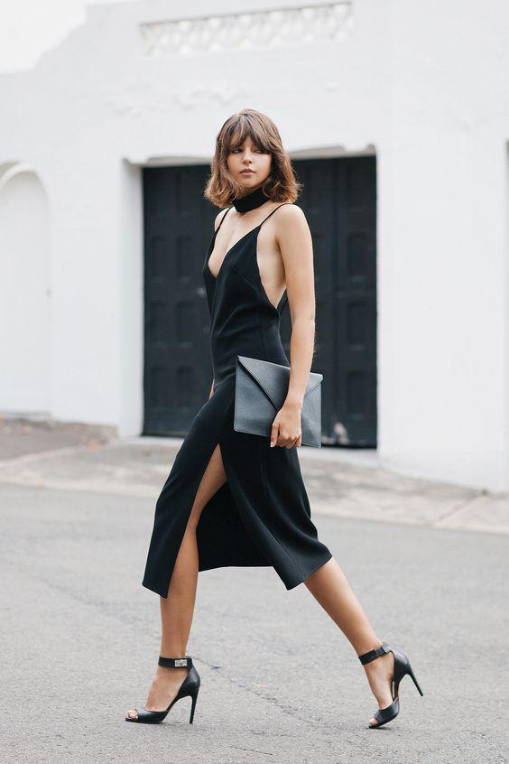 minimal5-lbd-black-slip-dress-black-sandals-skinny-scarf-streetstyle-how-to-wear-slip-dress-trend-2016.jpg