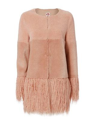 Shrimps Porgie Faux Fur Coat , $525