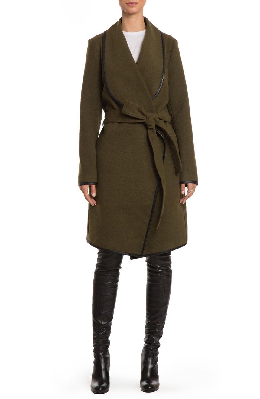 Badgley Mischka Tessa Coat , $229