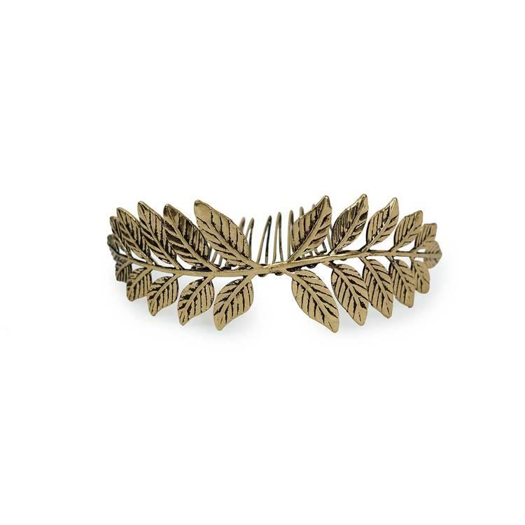Leaf Bun Pin $18- Kitsch