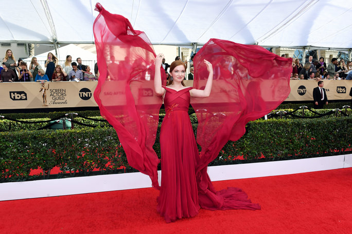 Talk about  drama. Annalise Basso created a MOMENT in Bibhu Mohapatra