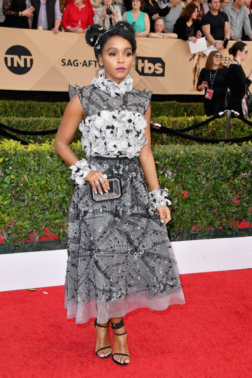 Janelle Monae is a couture dream in head to toe Chanel.