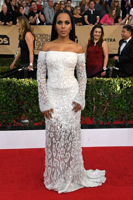 The stunning Kerry Washington in Cavalli Couture. Hey, where's Olivia Pope when you need her!