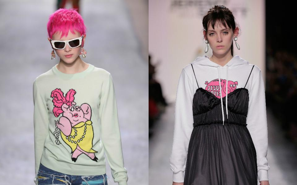More of Jeremy Scott 2017 Fall/Winter Collection.
