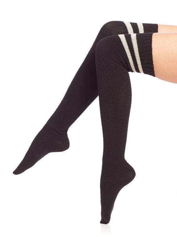 Ilux Brittany Sporty Thigh-High Socks $50