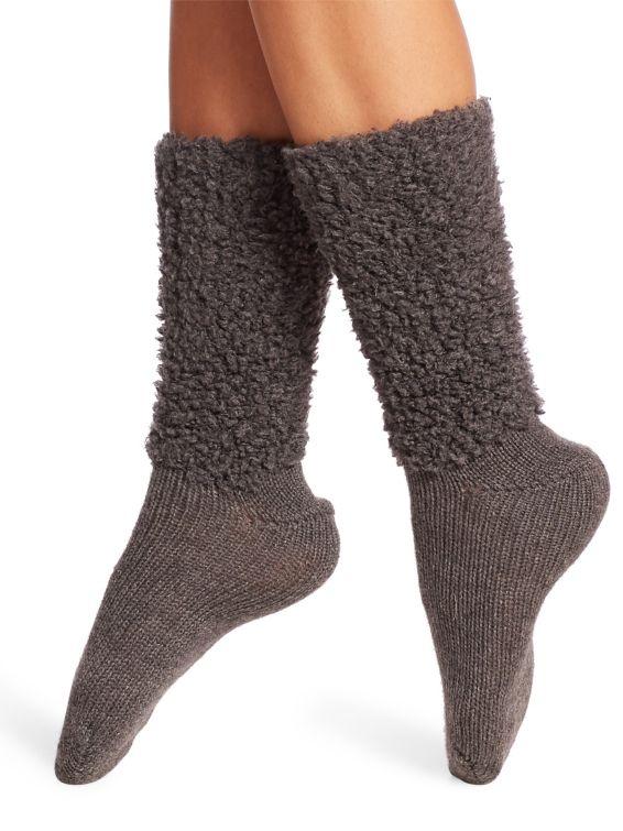 Brunello Cucinelli Cashmere Mid-Calf Socks $675