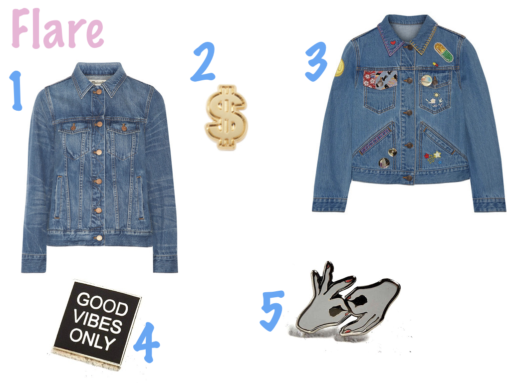 one.  MADEWELL , $120 | two.  PINTRILL , $10 | three.  MARC JACOBS , $895 | four.  PINTRILL , $12 | five.  PINTRILL , $12
