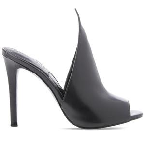 Kendall + Kylie Women's Essie Leather Heeled Sandals - Black $189.00