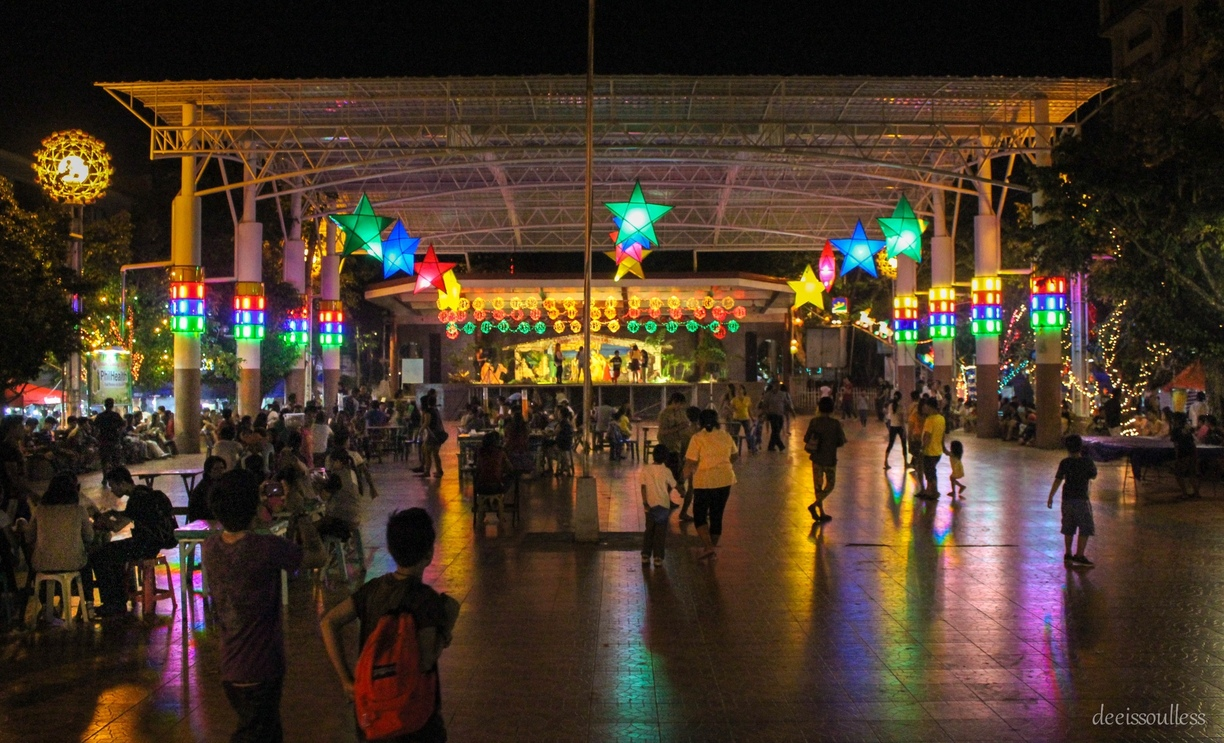 Iligan Plaza Center bustling with a vivid nightlift