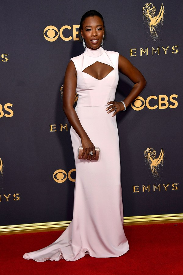 Samira Wiley in Christian Siriano