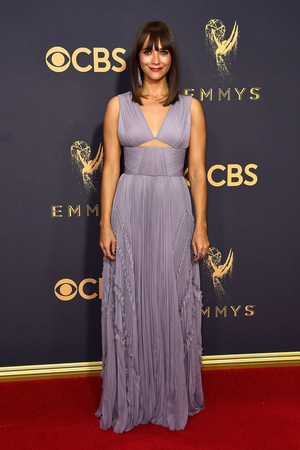 Rashida Jones in J. Mendel