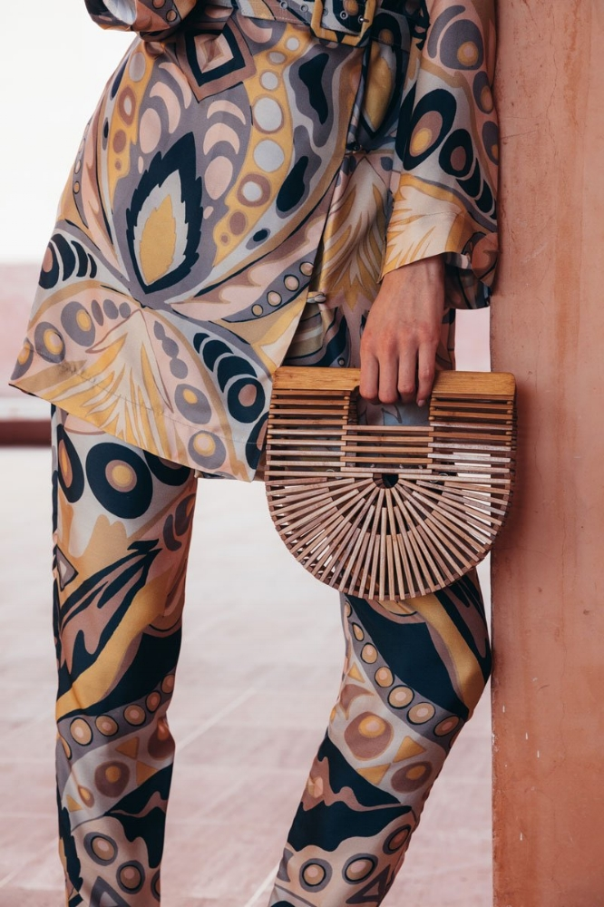 Cult Gaia's Ark Large Bamboo Clutch, $168.00, Available at Cult Gaia