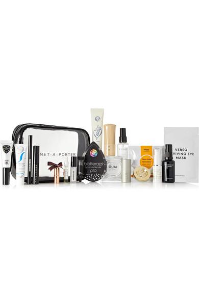 On The Go Beauty Kit    NET-A-PORTER BEAUTY On-The-Go Beauty Kit, Available at Net-A-Porter.com, $98.00