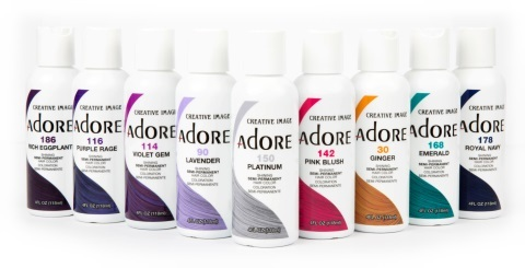 Adore Semi-Permanent Colors are vibrant and contain no alcohol ( Picture Source: Creativeimagesystems.com )