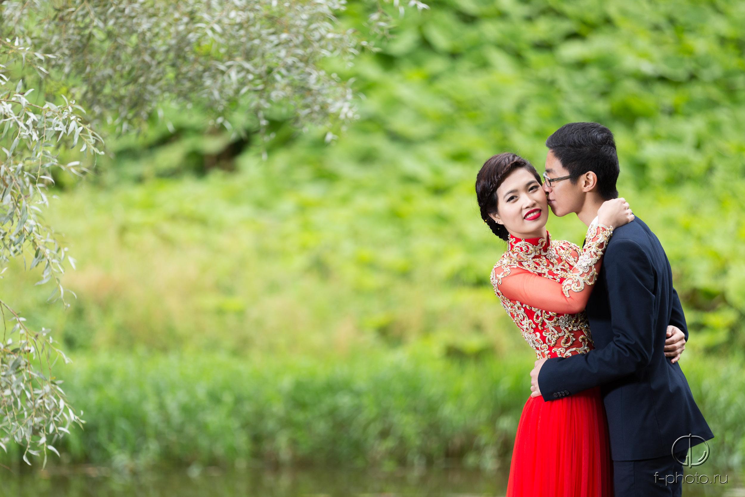 Свадебные фотографии Елены и Дмитр