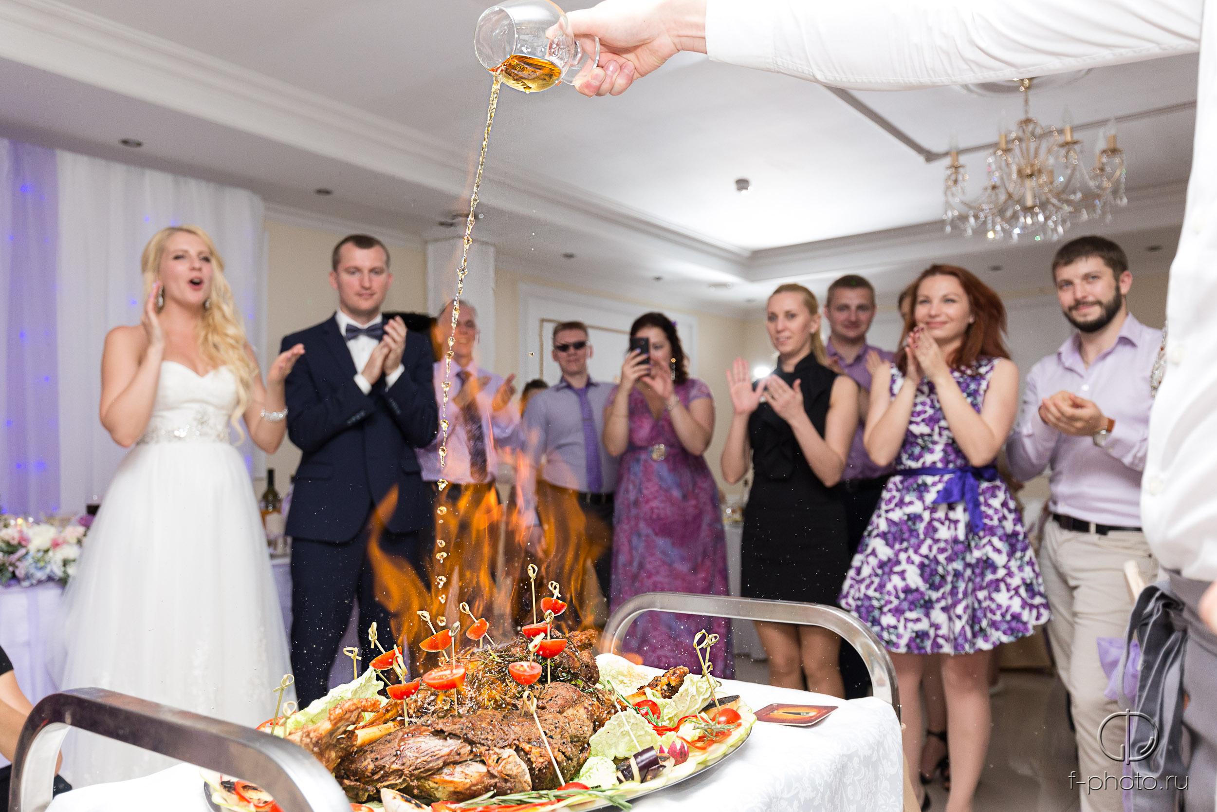 Свадебный банкет подарок от шеф-по