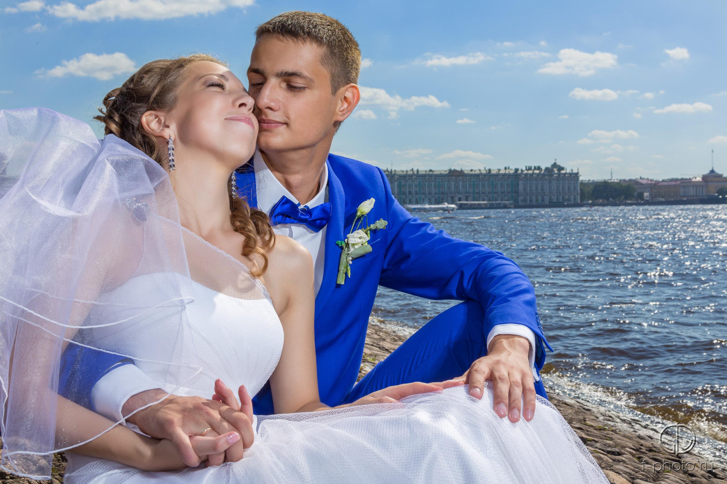 Красивые свадебные фото Санкт-Пете