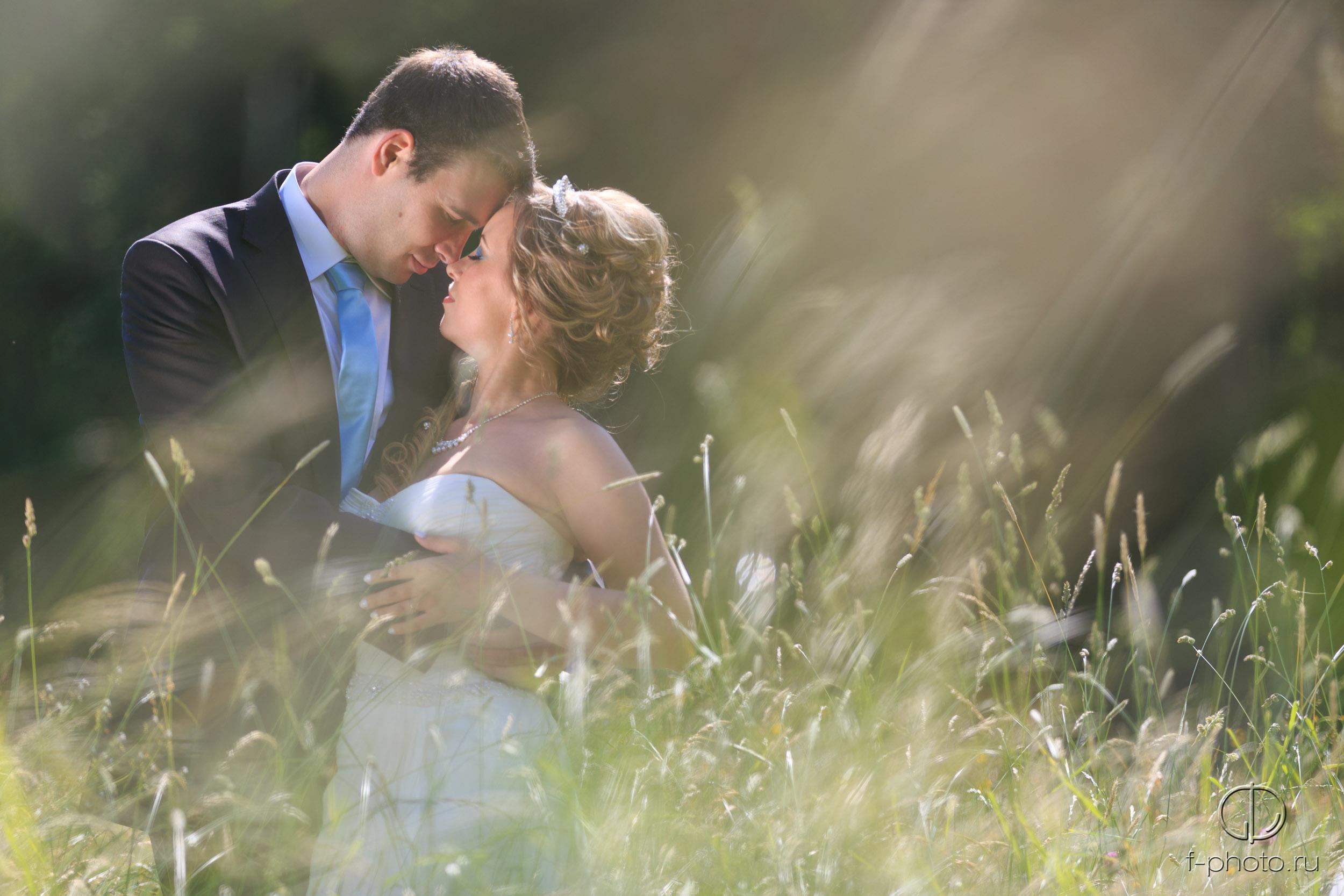 Романтичные свадебные фотографии