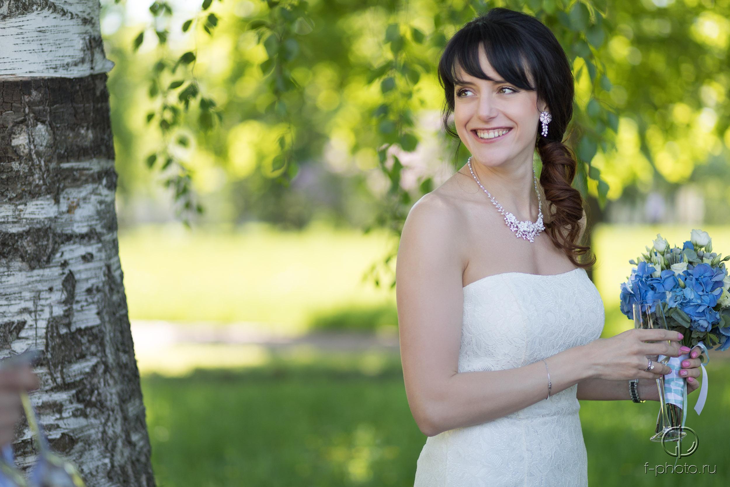Невеста на прогулке
