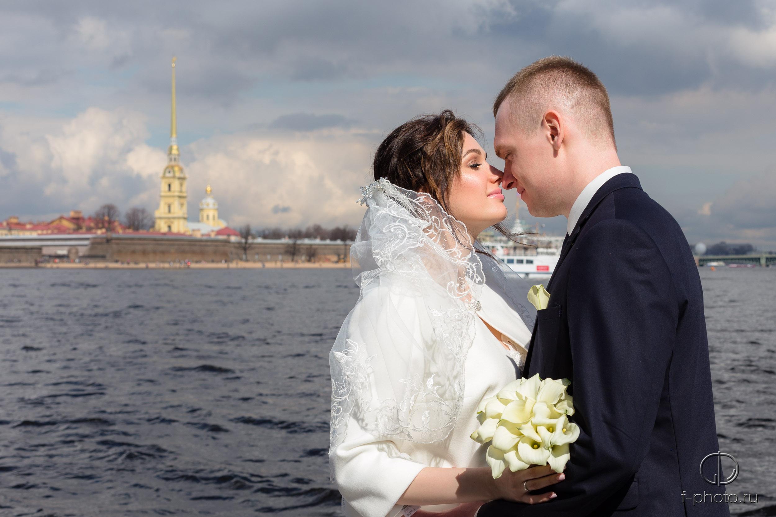 Свадебная прогулка в Петербурге