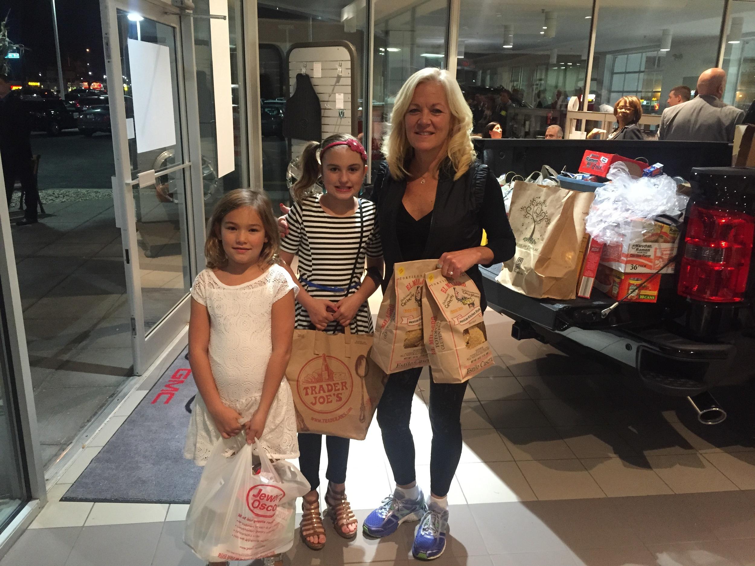 Katie Van Diggelen with Baker family