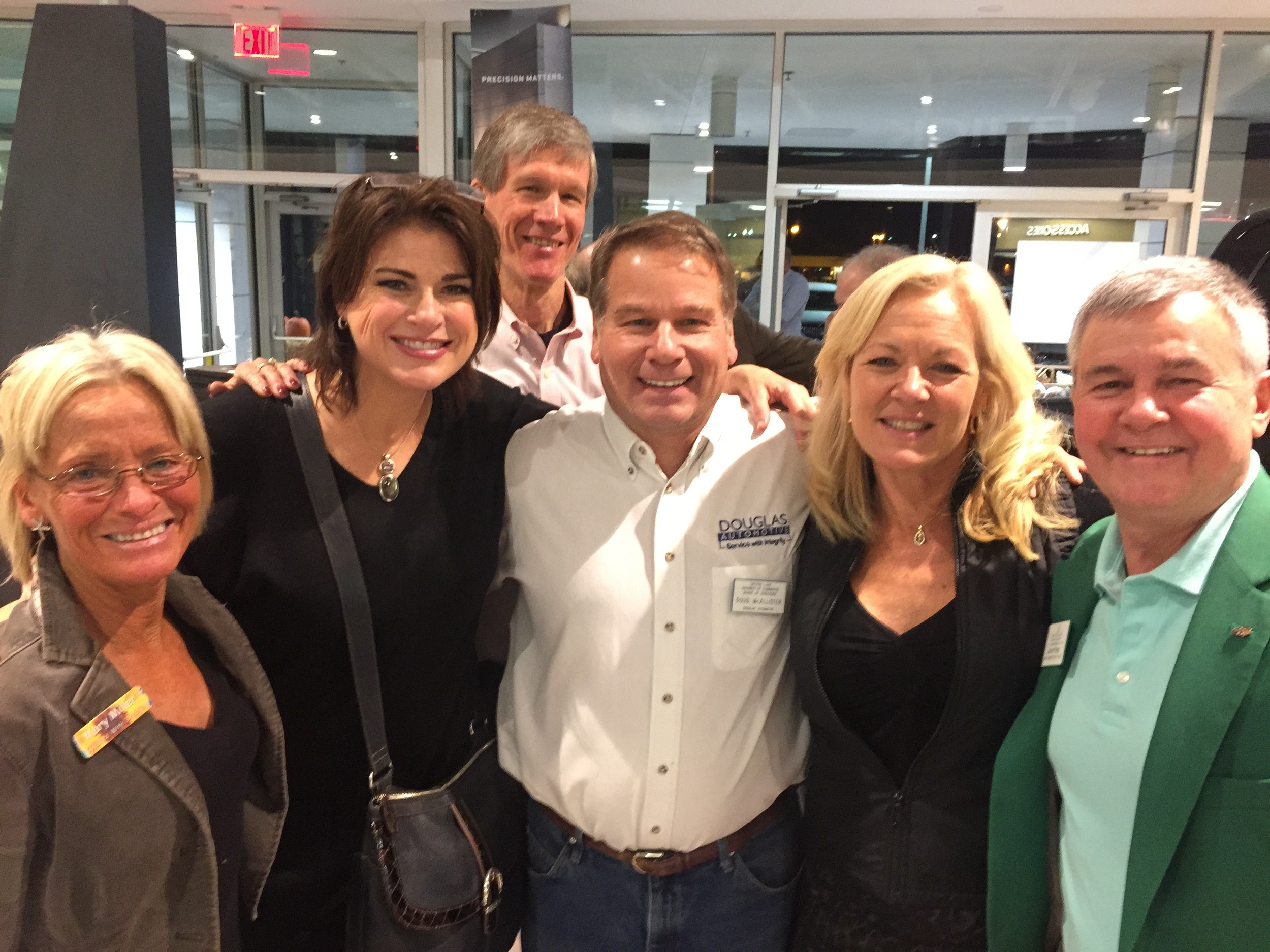 Mary Miller, Artist  Splashed with Creativity , Mary Koss, Voice Actor  Mary Says It All , Pete Luchinger  Isagenix , Doug McAllister owner  Douglas Automotive , Katie Van Diggelen, owner  Acheive Footwear , with John Pletz owner of  Servicemaster by Pletz