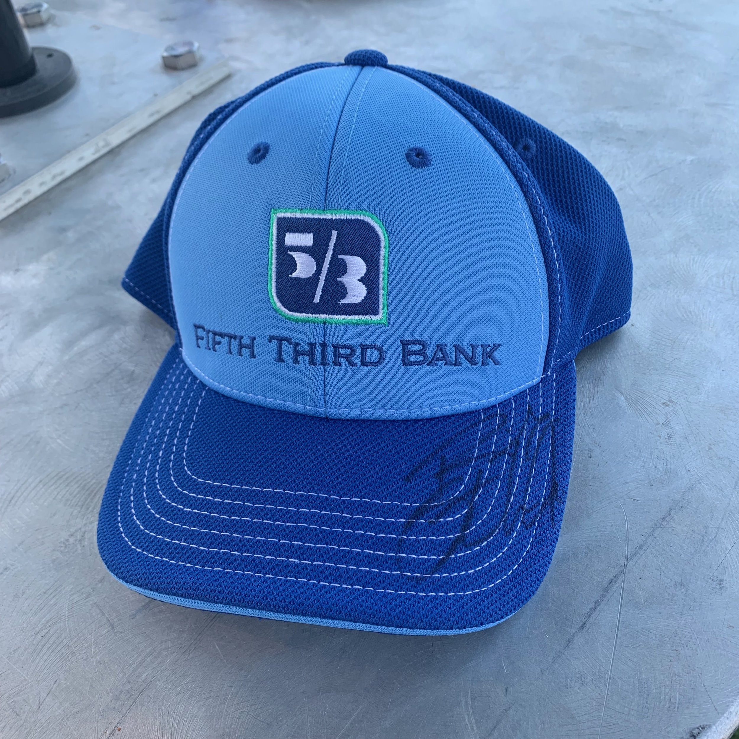 Ricky Stenhouse Jr. Signed Fifth Third Bank No. 17 Hat