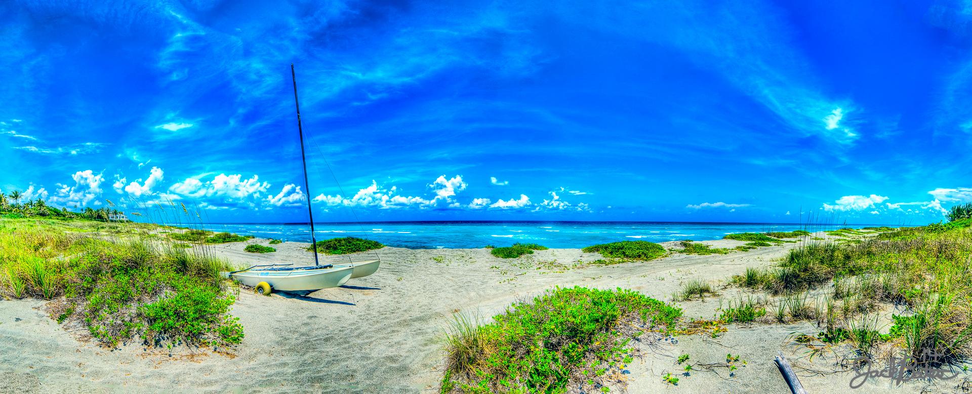 Sunny Beach Jupiter Island Panoramic