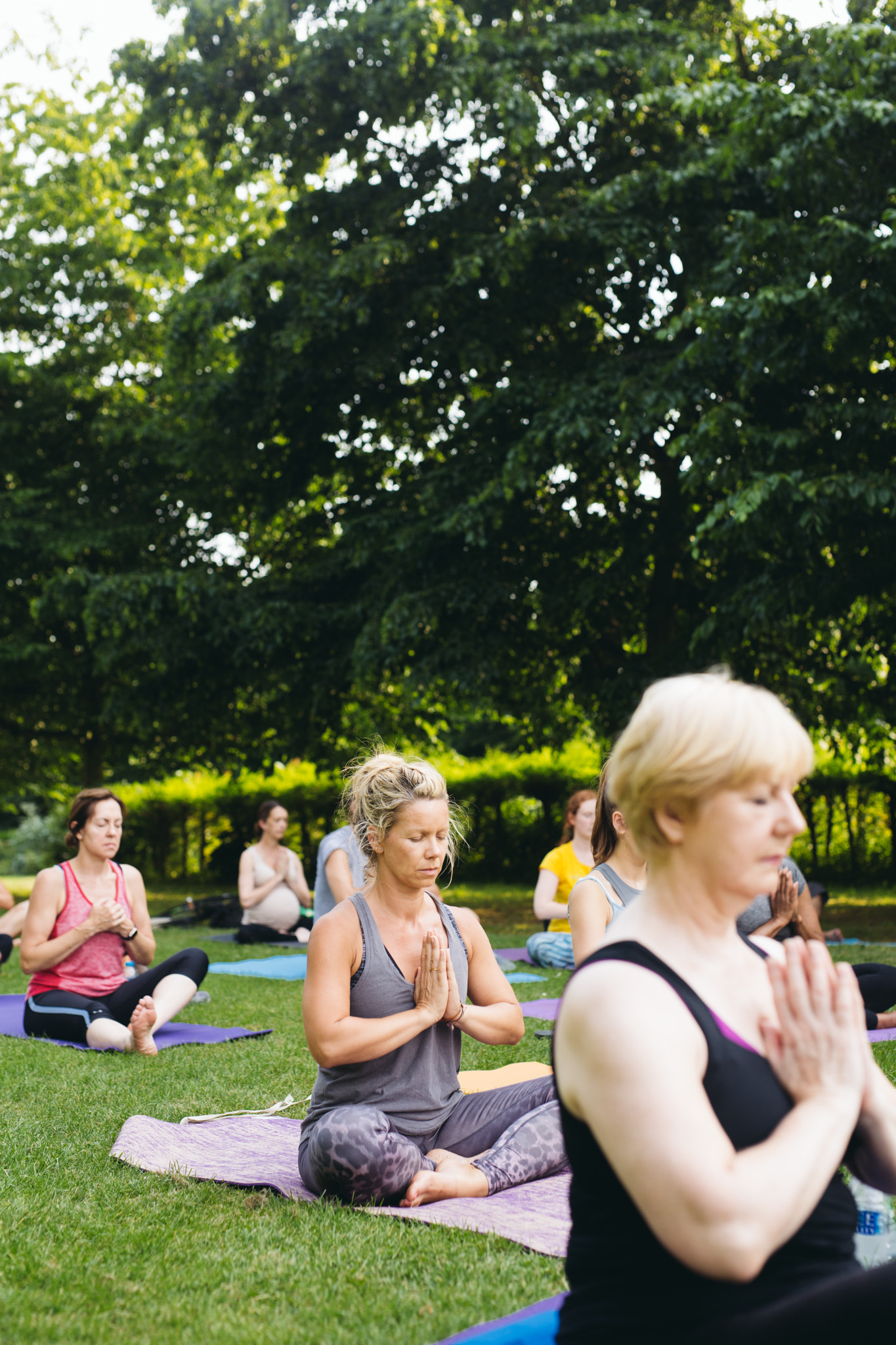 Yoga at the Park - 21st June 2017